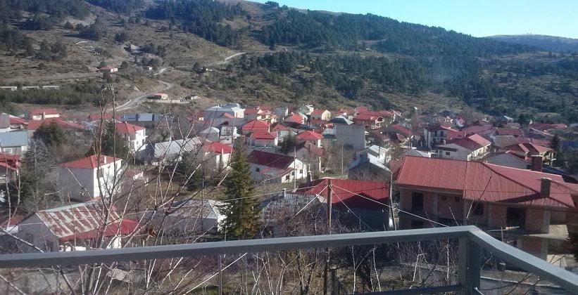 Деревня Самарина в Греции