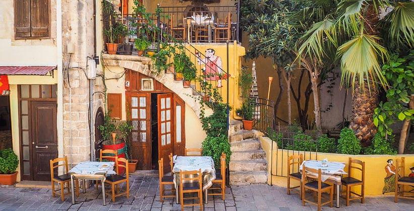 Таверна на острове Крит