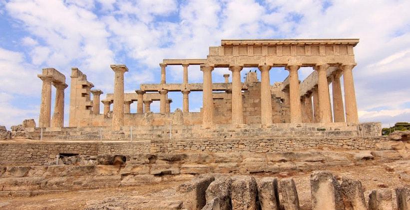 Храм Афайи на острове Эгина (Греция)