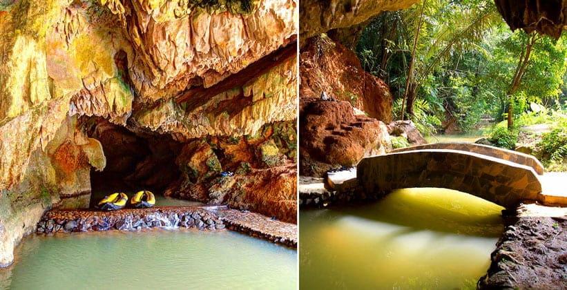 Пещера Тхам Пхунг Чанг в Таиланде