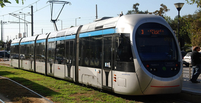 Трамваи в Афинах (Греция)