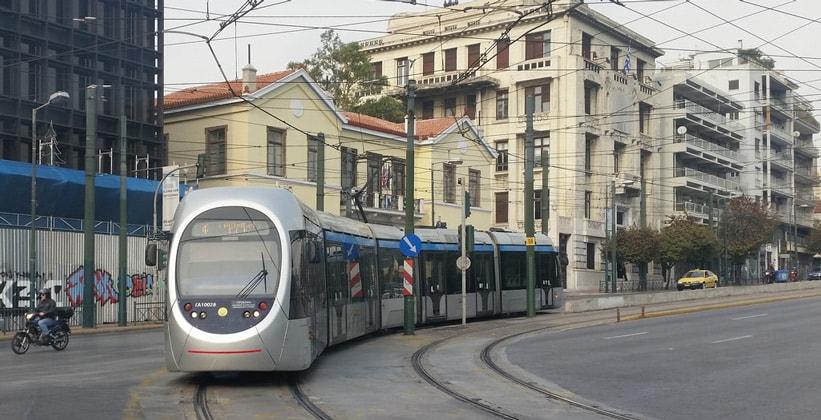 Трамваи в Греции
