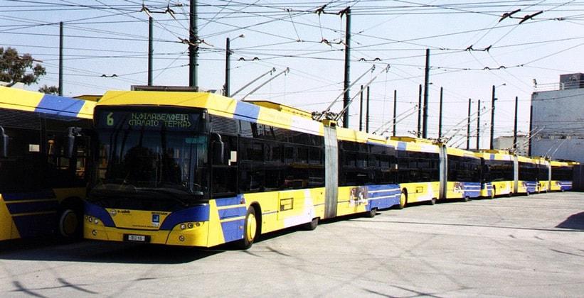 Троллейбусы в Греции