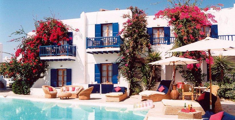 Вилла Dionysos на острове Миконос