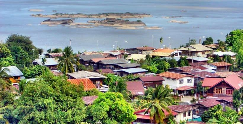 Таиландская деревня Конг Чиам