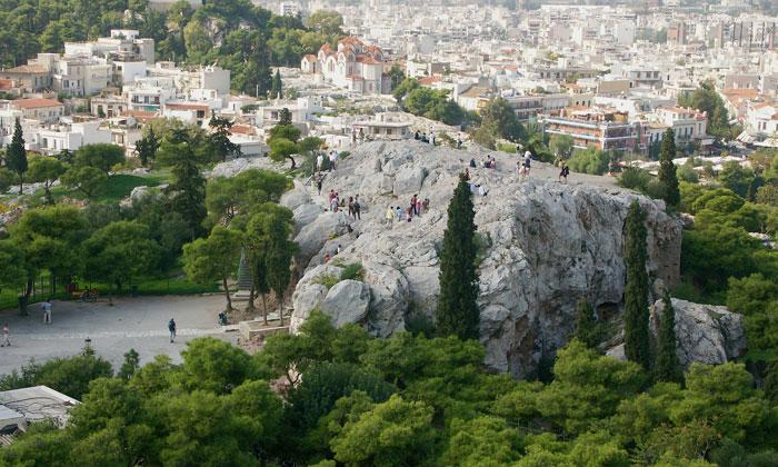 Холм Ареопаг в Афинах