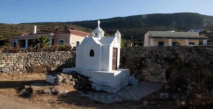 Городок Агия-Пелагия на острове Китира