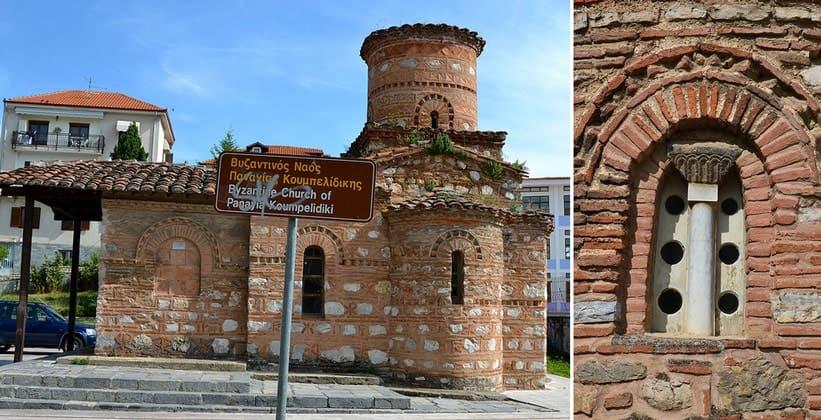Одна из Византийских церквей Кастории (Греция)