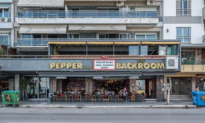 Кафе-бар «Pepper-Backroom» в Салониках