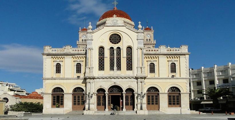 Кафедральный собор Святого Мины в Ираклионе (Греция)