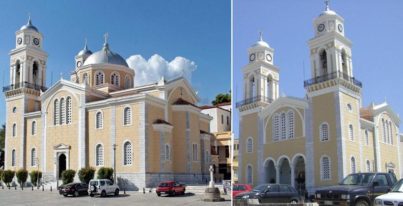 Кафедральный собор в Каламате (Греция)