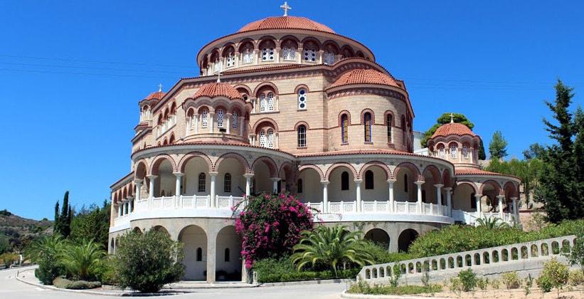 Собор Святого Нектария на острове Эгина (Греция)