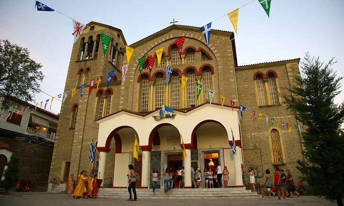Церковь Каламбаки в Греции
