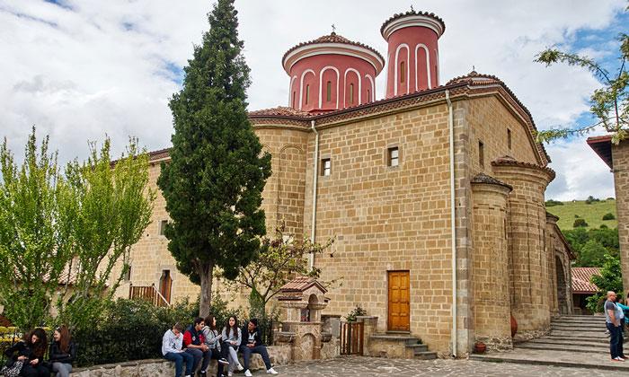 Церковь монастыря Стефана в Греции