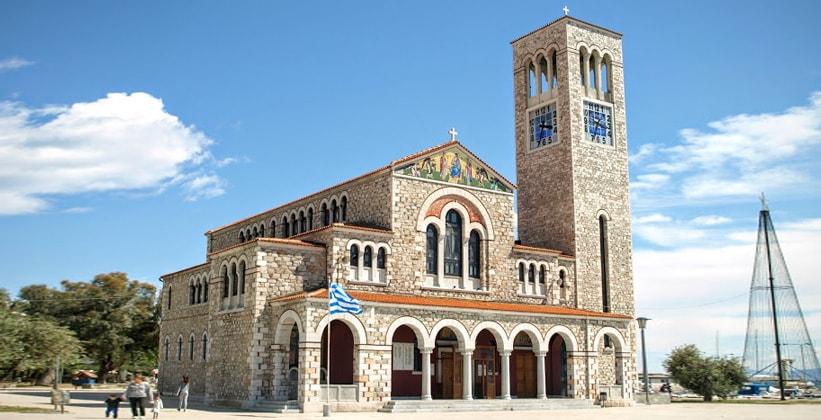 Церковь Святых Константина и Елены в Волосе (Греция)