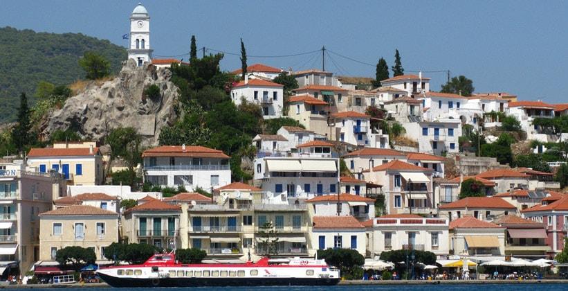 Греческий город Порос