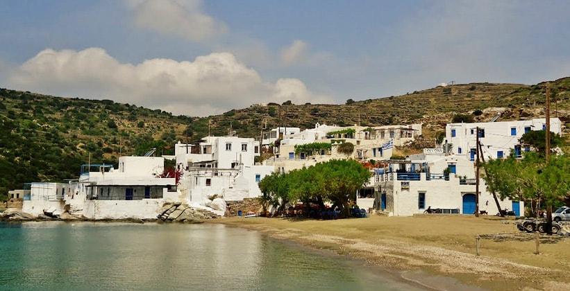 Курорт Фарос на острове Сифнос (Греция)