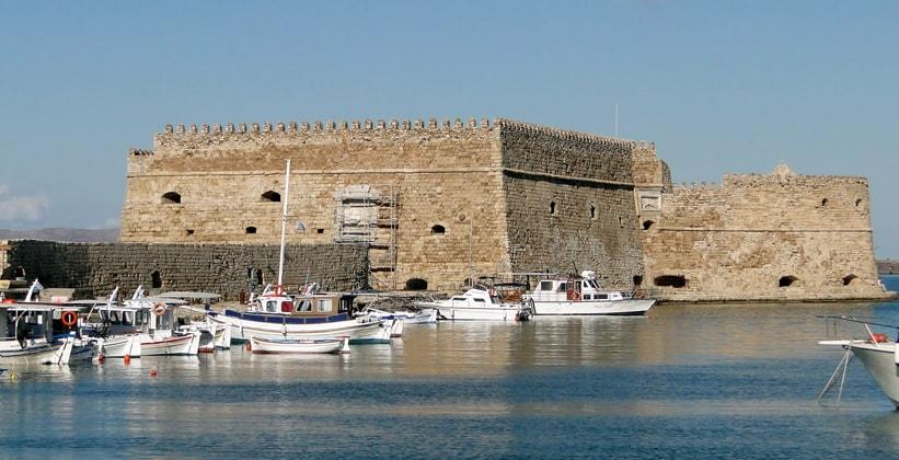 Крепость Кулес в Ираклионе (Греция)