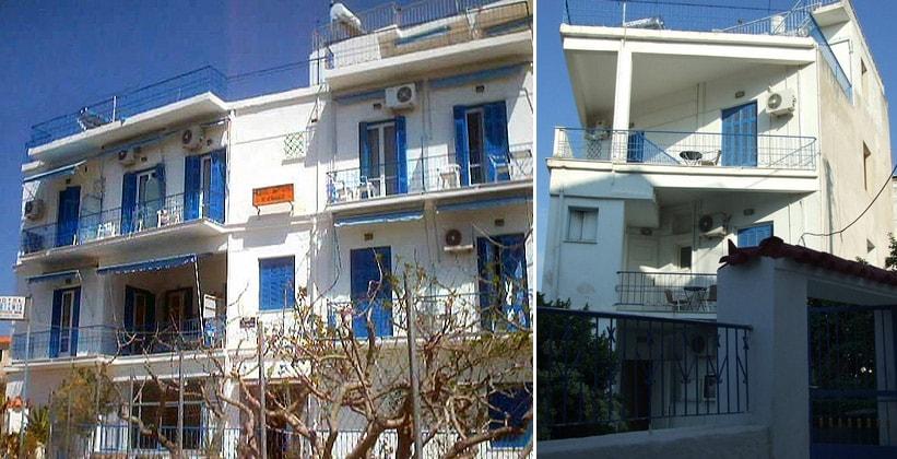 Отель Artemis в городе Эгина (Греция)