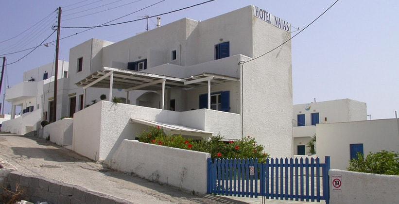 Отель Naias на острове Серифос (Греция)