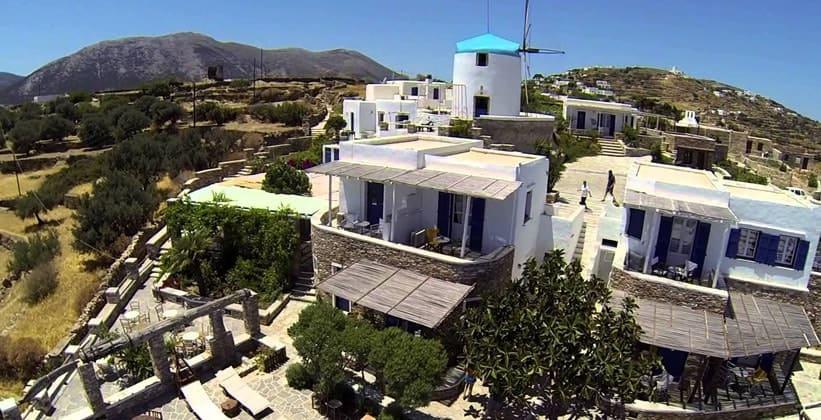 Отель Windmill Bella Vista возле деревни Артемонас