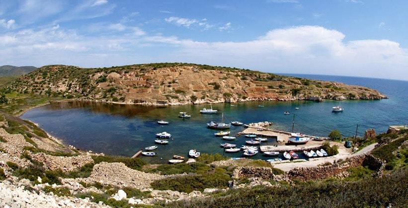 Остров Кимолос в Греции