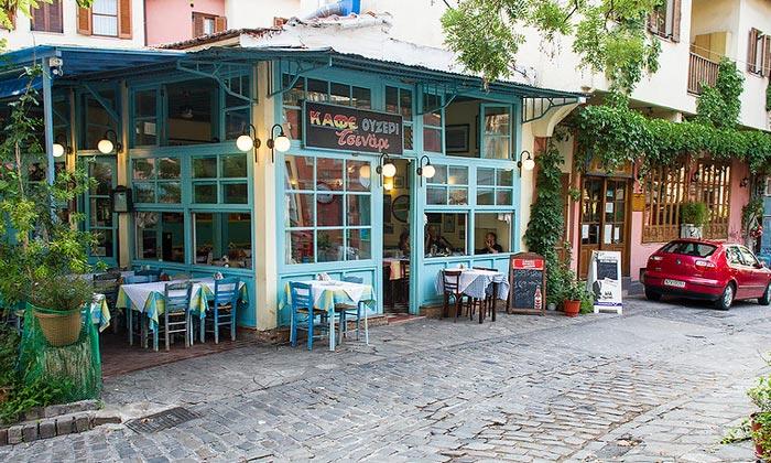 Кафе «Ouzeri Tsinari» в Салониках