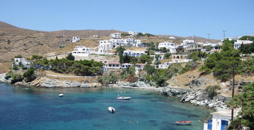 Курорт Канала на острове Китнос (Греция)