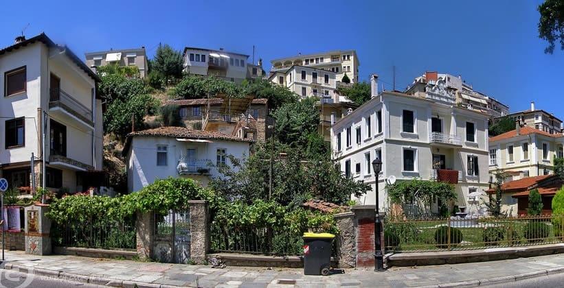 Классические строения Кастории (Греция)