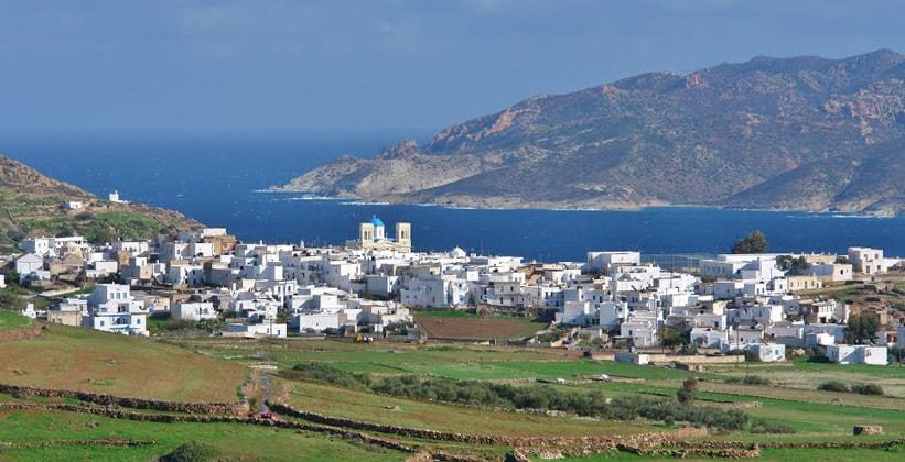Красоты острова Кимолос в Греции