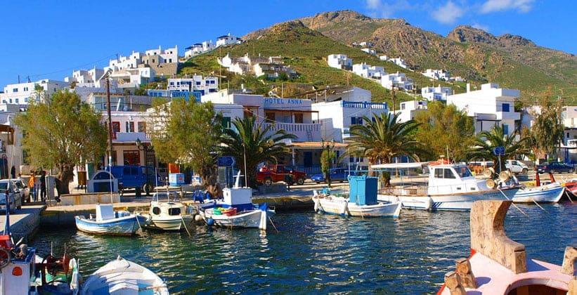 Красоты острова Серифос (Греция)