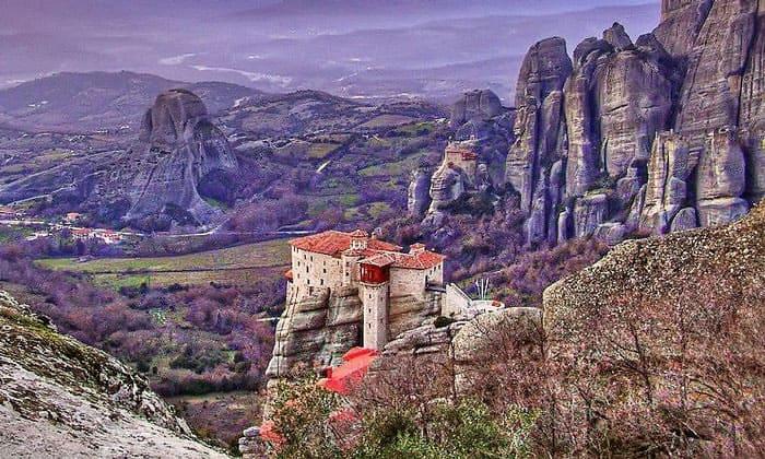 Красоты Метеоры в Греции