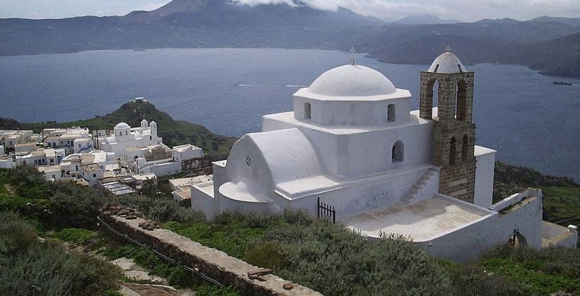 Красоты Плаки на острове Милос (Греция)