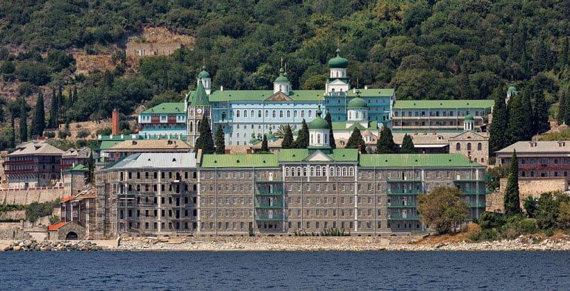 Русский монастырь Святого Пантелеймона на горе Афон