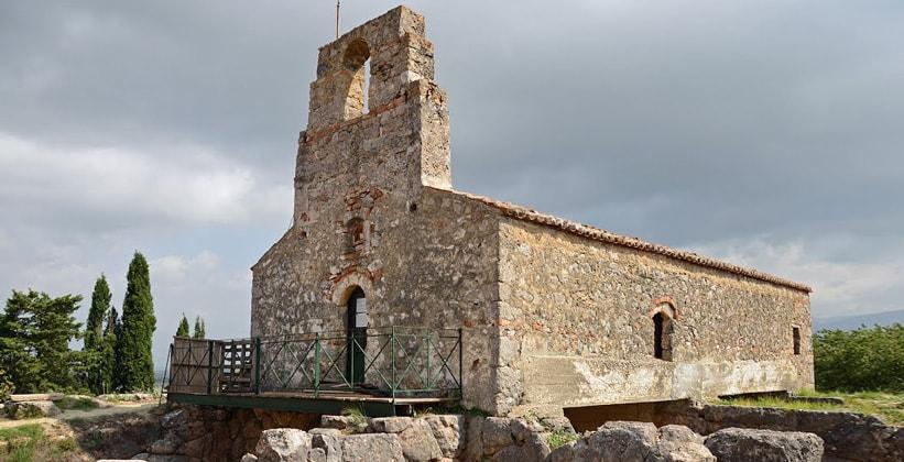 Монастырь Святого Иоанна Крестителя (Некромантион Ахерона – Греция)