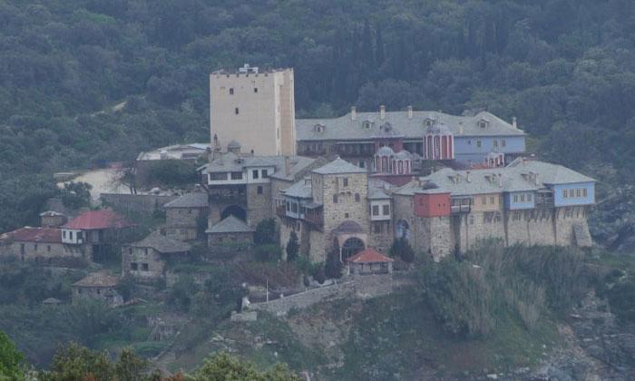 Монастырь Пантократор (гора Афон) в Греции