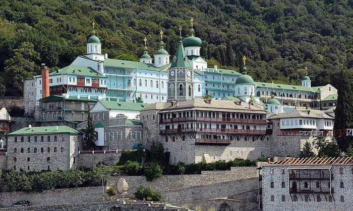 Русский монастырь Святого Пантелеймона (гора Афон) в Греции