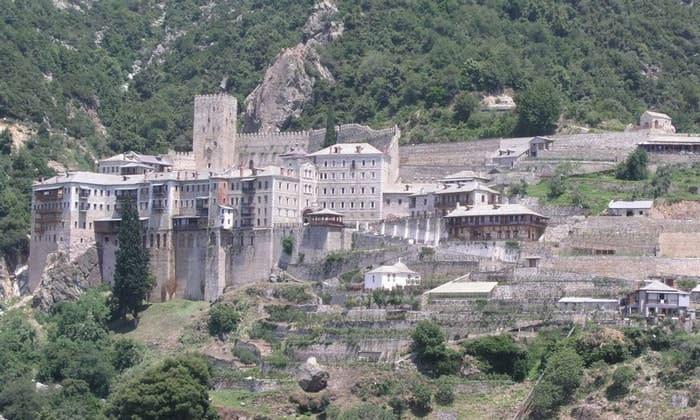 Монастырь Святого Павла (гора Афон) в Греции