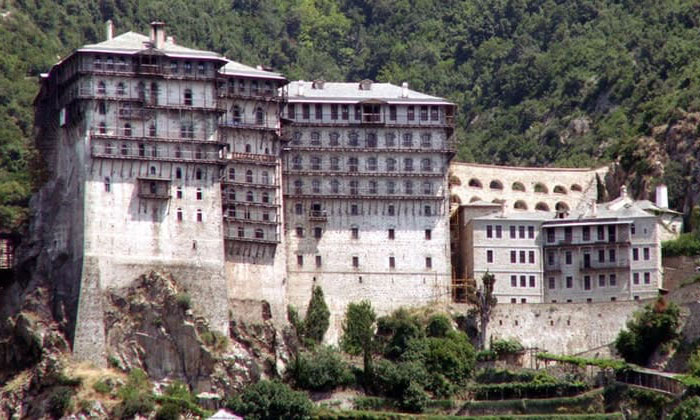 Монастырь Симона Петра (гора Афон) в Греции