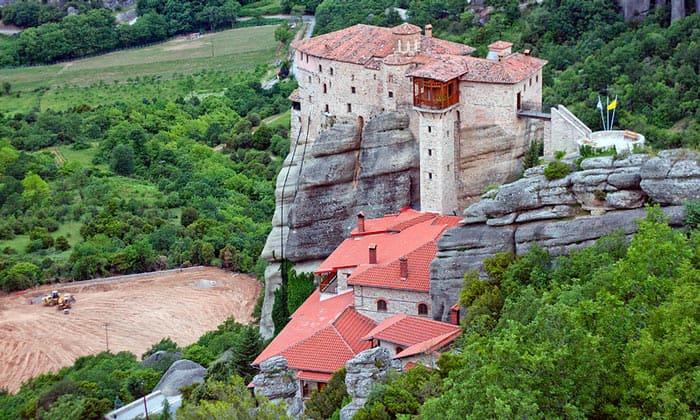 Монастырь Святой Варвары (Русану) в Греции