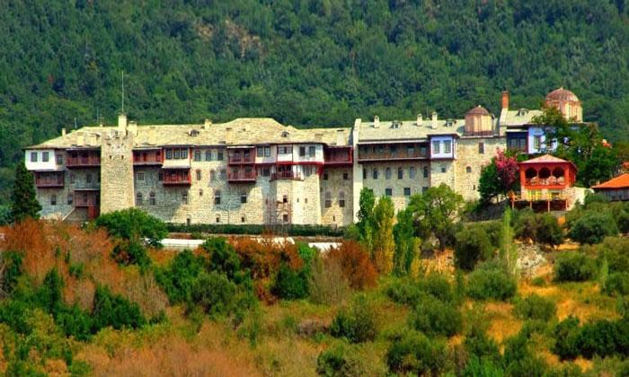 Монастырь Ксиропотам (гора Афон) в Греции