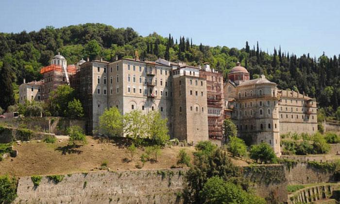 Монастырь Великомученика Георгия Победоносца (гора Афон) в Греции