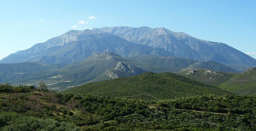 Гора Парнас в Греции