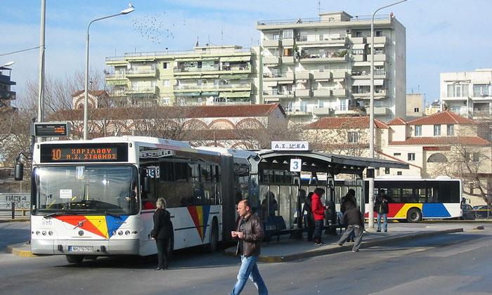 Муниципальные автобусы Салоник