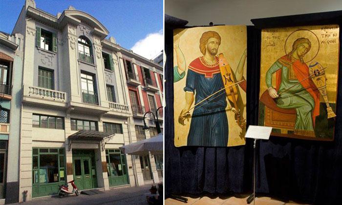 Музей греческих музыкальных инструментов в Салониках
