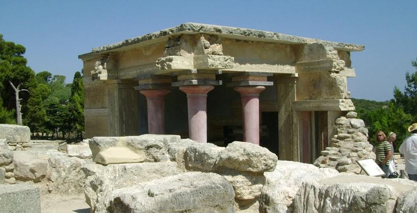 Северный бассейн Омовений Кносского дворца (Греция)