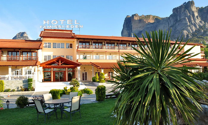 Отель Famissi Eden в Каламбаке