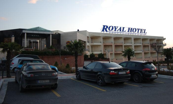 Отель «Royal» в Салониках
