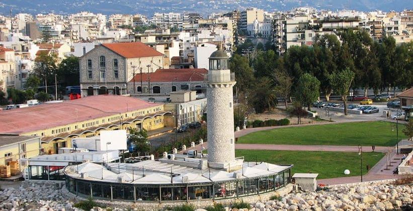 Город Патры в Греции