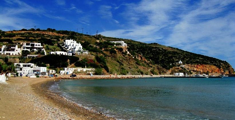 Курорт Платис-Ялос на острове Сифнос (Греция)